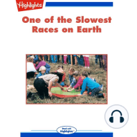 One of the Slowest Races on Earth