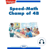Speed Math Champ of 4B