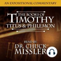 The Books of Timothy, Titus & Philemon: An Expositional Commentary