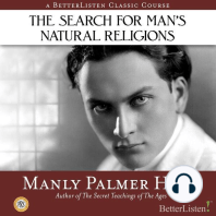 The Search for Man's Natural Religions