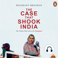 Case that Shook India, The