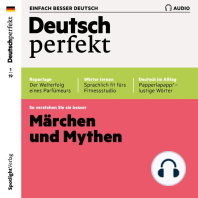 Deutsch lernen Audio - Märchen und Mythen