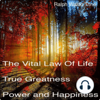 The Vital Law Of Life