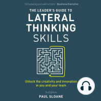 The Leader's Guide to Lateral Thinking Skills, 3rd Edition