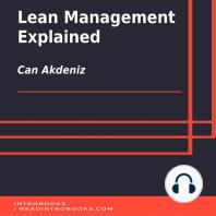 Lean Management Explained