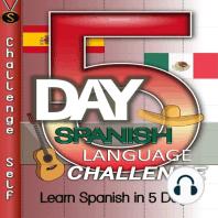 5-Day Spanish Language Challenge