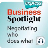 Business Spotlight express – Kompetenzen – Die Verteilung von Aufgaben verhandeln