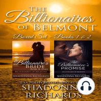 Billionaires of Belmont: Boxed Set Books #01-#02