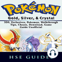 Pokemon Gold, Silver, & Crystal 3DS, Exclusives, Pokemon, Walkthrough, Tips, Cheats, Download, Game Guide Unofficial