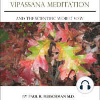Vipassana Meditation and the Scientific World View