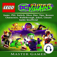 Lego DC Super Villains Game, PS4, Switch, Xbox One, Tips, Bosses, Characters, Walkthrough, Jokes, Cheats, Guide Unofficial