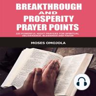 Breakthrough And Prosperity Prayer Points