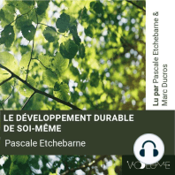 Le développement durable de soi-même