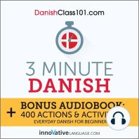 3-Minute Danish