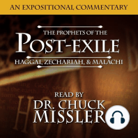 The Prophets of the Post Exile
