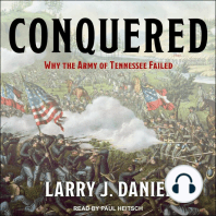 Conquered: Why the Army of Tennessee Failed