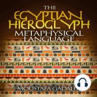 The Egyptian Hieroglyph Metaphysical Language