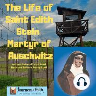 The Life of Saint Edith Stein Martyr of Auschwitz