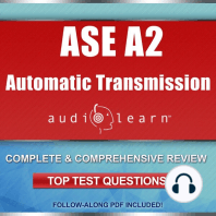 Automatic Transmission or Transaxle Test (A2) AudioLearn