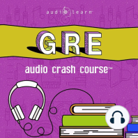 GRE Audio Crash Course