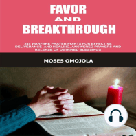 Favor And Breakthrough
