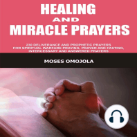 Healing And Miracle Prayers