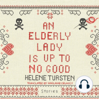 An Elderly Lady Is Up to No Good