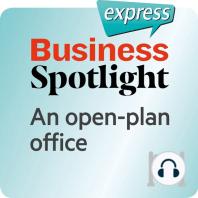 Business Spotlight express – Grundkenntnisse – Ein Großraumbüro