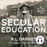 On Secular Education
