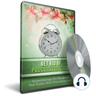 Hypnosis for Destroying Procrastination