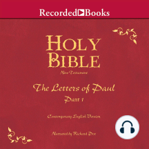 Holy Bible: The Letters of Paul, Part 1 Volume 27