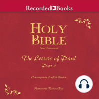 Holy Bible Letters of Paul-Part 2 Volume 28