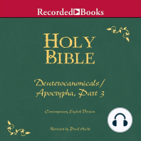 Part 3, Holy Bible Deuterocanonicals/Apocrypha-Volume 20