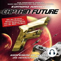 Captain Future, Die Herausforderung, Folge 2: Konferenz im Weltall