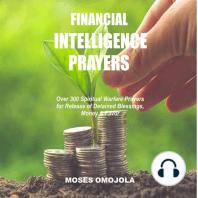 Financial Intelligence Prayers