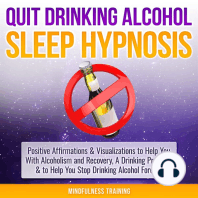 Quit Drinking Alcohol Sleep Hypnosis
