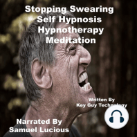 Stopping Swearing Self Hypnosis Hypnotherapy Meditation