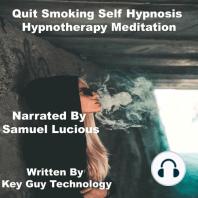 Quit Smoking Self Hypnosis Hypnotherapy Meditation