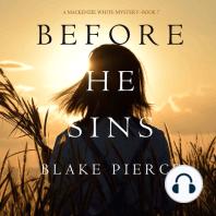 Before He Sins (A Mackenzie White Mystery—Book 7)