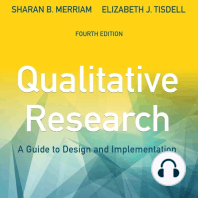 Qualitative Research: A Guide to Design and Implementation [4th Edition]