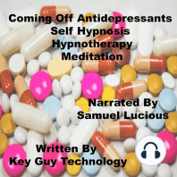 Coming Off Antidepressants Self Hypnosis Hypnotherapy Meditation