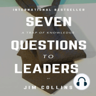 Seven Questions To Leaders