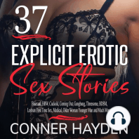 37 Explicit Erotic Sex Stories