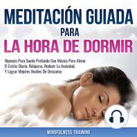 Meditación Guiada Para La Hora De Dormir