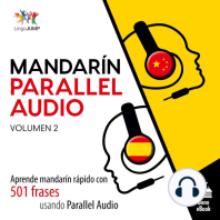 Mandarín Parallel Audio