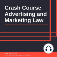 Crash Course Advertising and Marketing Law