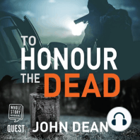 To Honour the Dead: Jack Harris Book 4