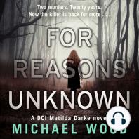 For Reasons Unknown (DCI Matilda Darke, Book 1)