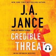 Credible Threat: Ali Reynolds Series, Book 15