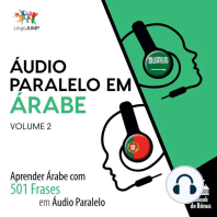 Áudio Paralelo em Árabe